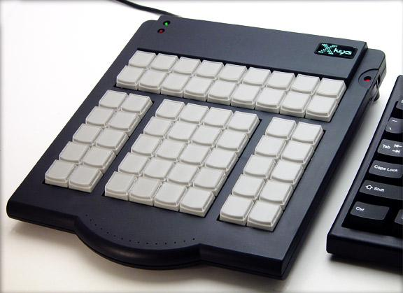 The X-Keys Professional (58 Key) Keyboard