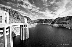 Hover Dam Water Inlet Gates