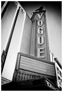 The Vogue Theater. Vancouver, BC